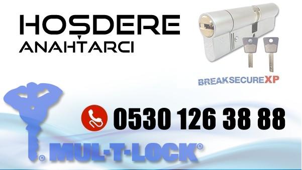 Hoşdere Anahtarcı Çilingir - Mul-t-lock Kilit - 0530 126 38 88